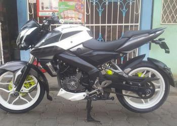 Vendo moto Pulsar NS 2018