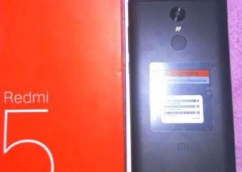 Celular Redmi 5 Plus 64GB