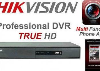 Sistema de seguridad CCTV profesional marca HIKVISION