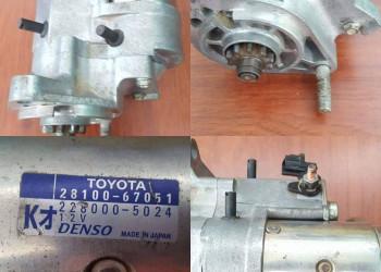 Vendo motor de arranque para Toyota Prado 2014