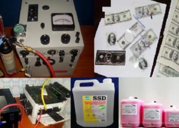Compre solución química ssd para limpiar notas negras en línea en Asia, Dubai, Japón, Europa