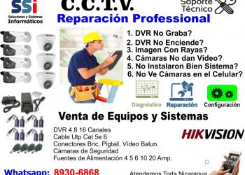 Reparación de CCTV