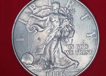 VENTA DE MONEDAS DE 1/2 DOLAR AMERICANO DE 1916